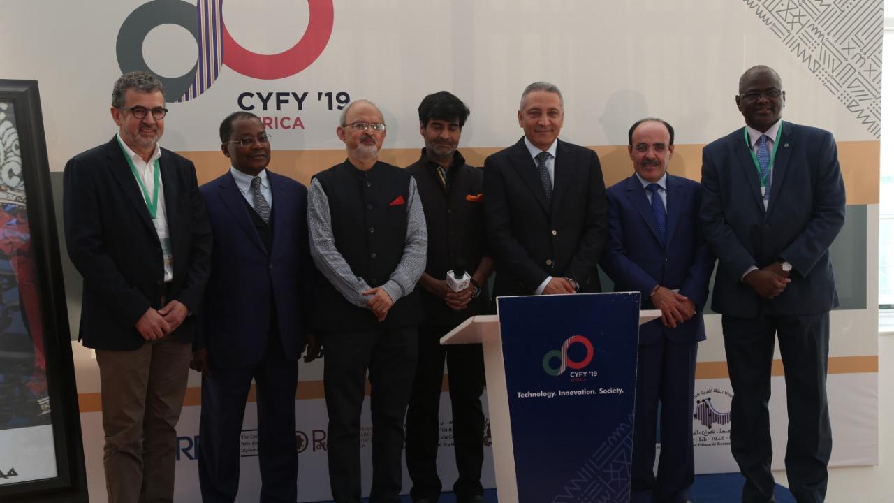 صورة العلمي يبرز من مؤتمر طنجة دور التكنولوجيا والإبتكار في النهوض بالمغرب