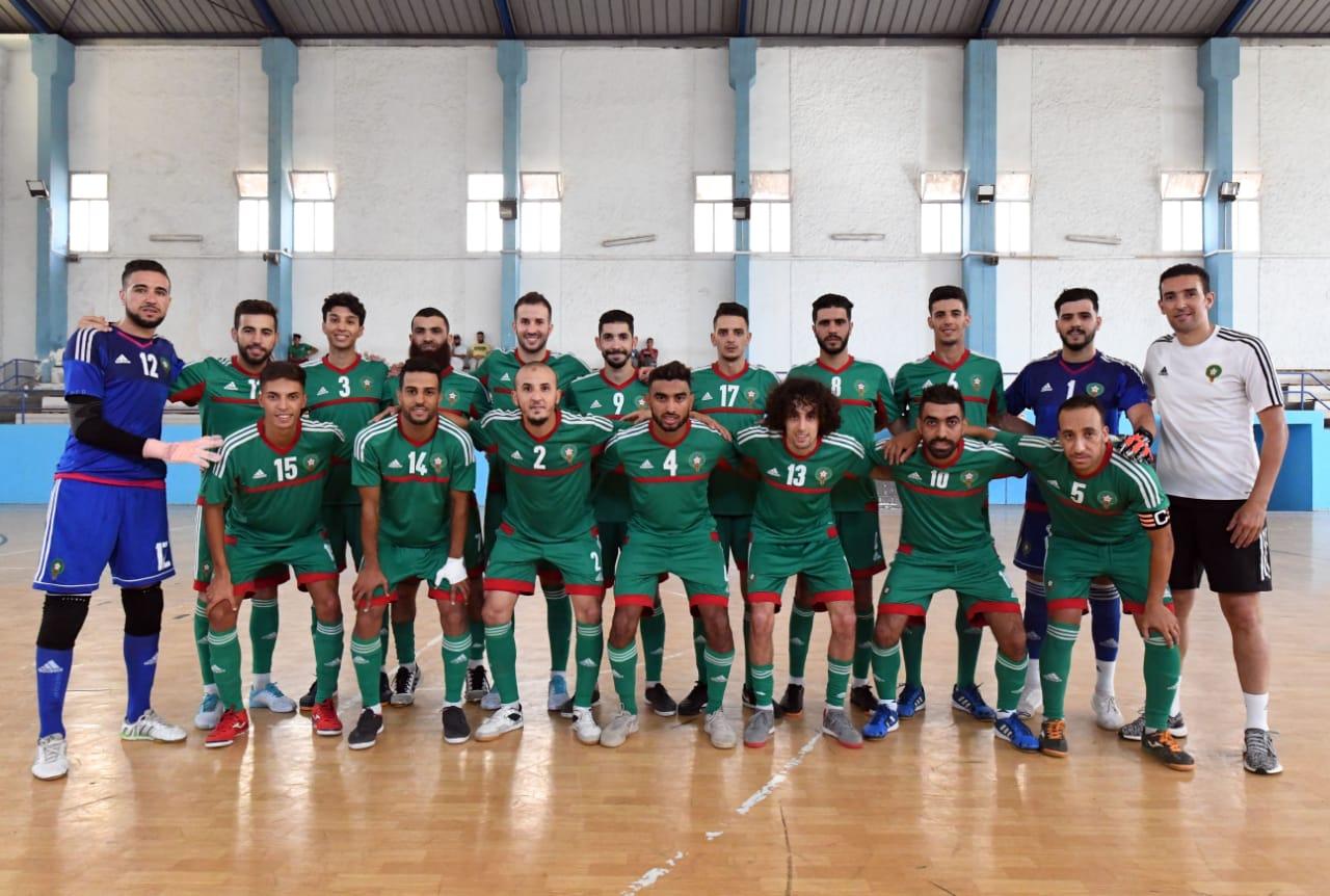 صورة المنتخب المغربي يدخل معسكره التدريبي استعدادا لكأس أفريقيا