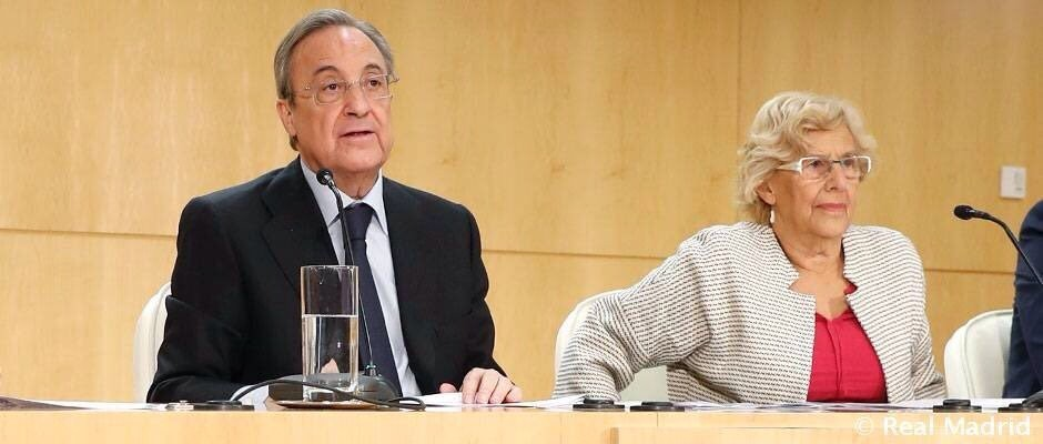 """صورة عمدة مدريد """"متحمّسة"""" لاستضافة نهائي """"كأس ليبرتادوريس"""""""