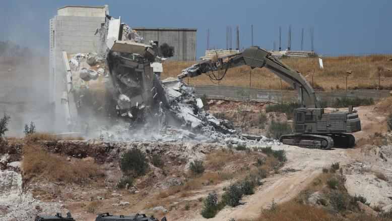 صورة الأمم المتحدة تطالب إسرائيل بوقف هدم منازل الفلسطينيين