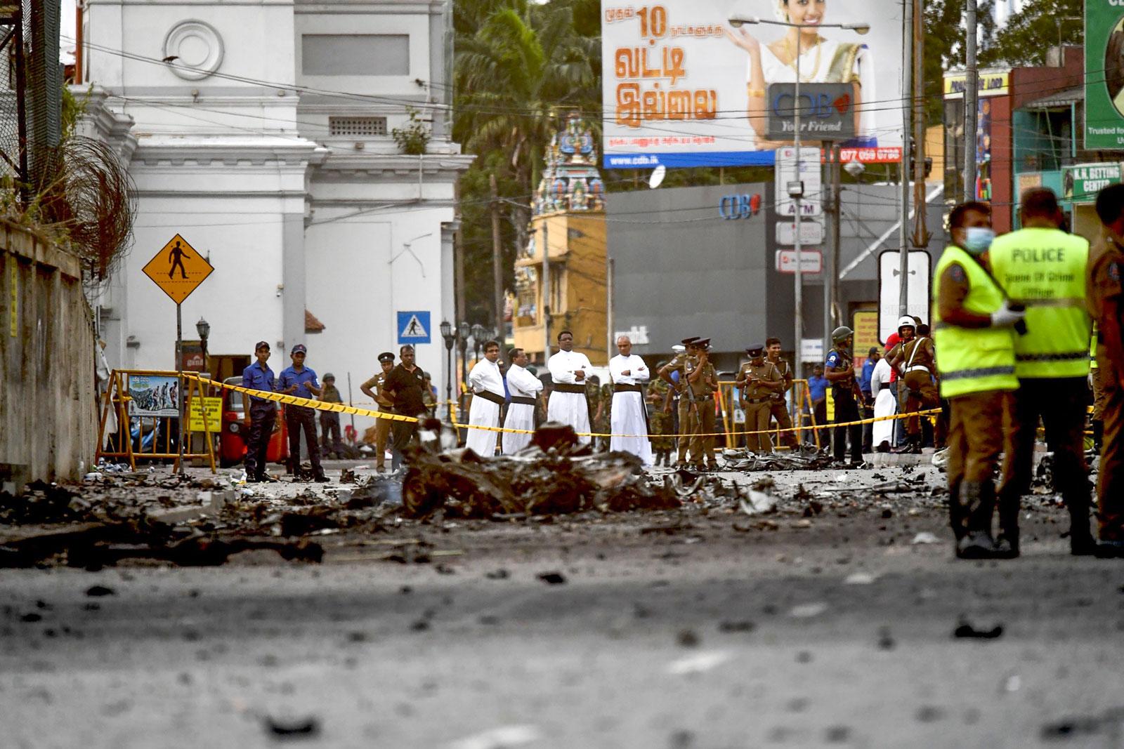صورة حصري: المخابرات المغربية قدمت معلومات استخباراتية مهمة لسريلانكا لمساعدتها على التعرف على منفذي التفجيرات