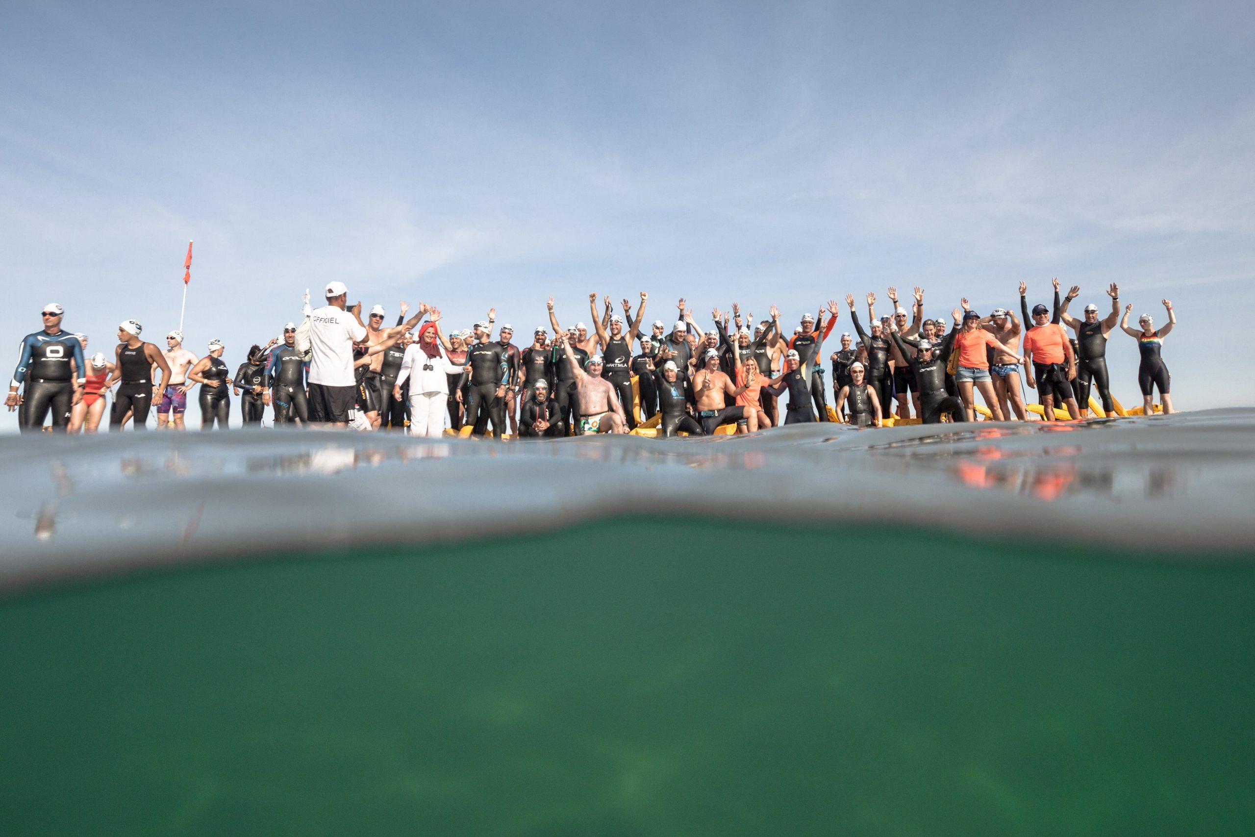 صورة 160 سبّاحا عالميا يجتمعون بشواطئ الداخلة