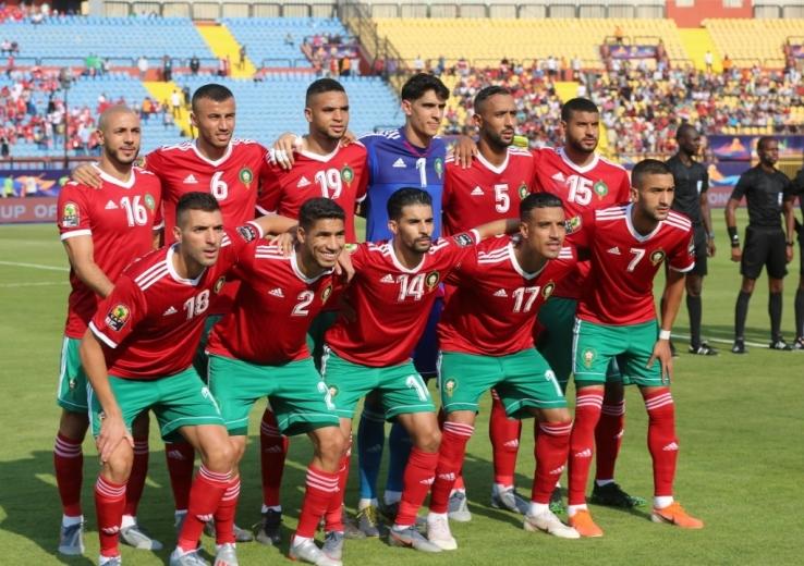 صورة الاعلام المصري: ارتفاع درجة الحرارة أثرت على مردودية لاعبي المنتخب المغربي