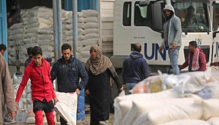 صورة مناشدة أممية لجمع 350 مليون دولار للفلسطينيين