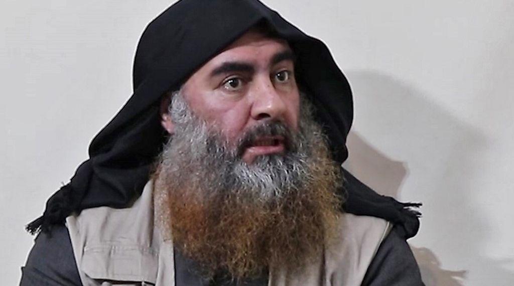 صورة دونالد ترامب يؤكد وفاة البغدادي زعيم داعش