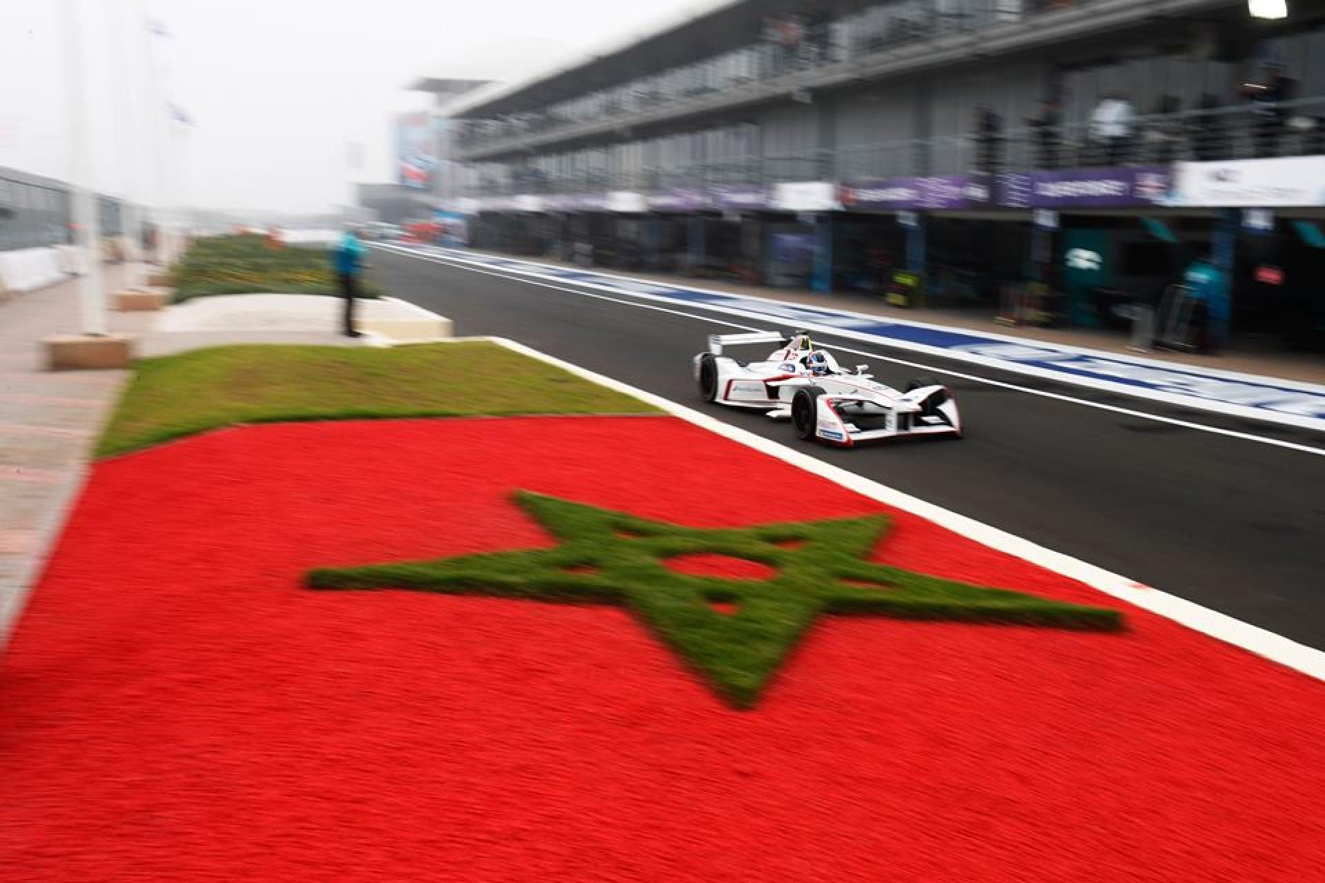 """صورة مراكش تحتضن سباق سيارات """"formula e"""""""