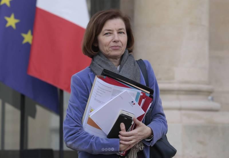 """صورة وزيرة الجيوش الفرنسية تعلن مقتل الإرهابي """"يحيى أبو الهمام"""""""