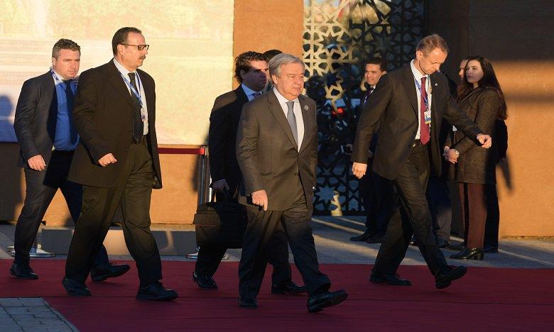 "Photo of غوتيرس يؤكد بمراكش: الهجرة يجب أن تكون قرارا من ""اختيار"" وليس من ""يأس"""