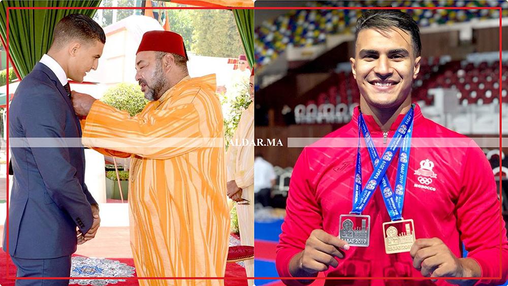 """صورة البطل العالمي أوشن لـ""""الدار"""": المنتخب المغربي احتل عن جدارة واستحقاق الرتبة الأولى أفريقيا"""