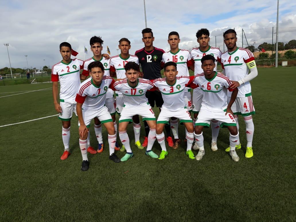 صورة كرة القدم: المنتخب الوطني للفتيان يفوز أمام مالي