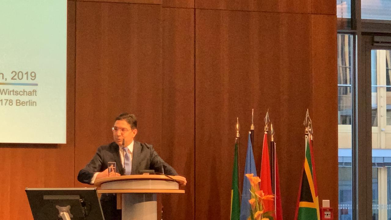 """صورة بوريطة في قمة """"الميثاق مع إفريقيا"""" في برلين: إفريقيا، """"أولوية"""" في السياسة الخارجية للمغرب"""