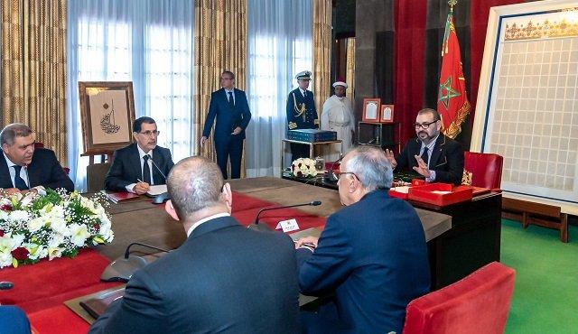 صورة الملك محمد السادس يقرّع بشدة مولاي حفيظ العلمي