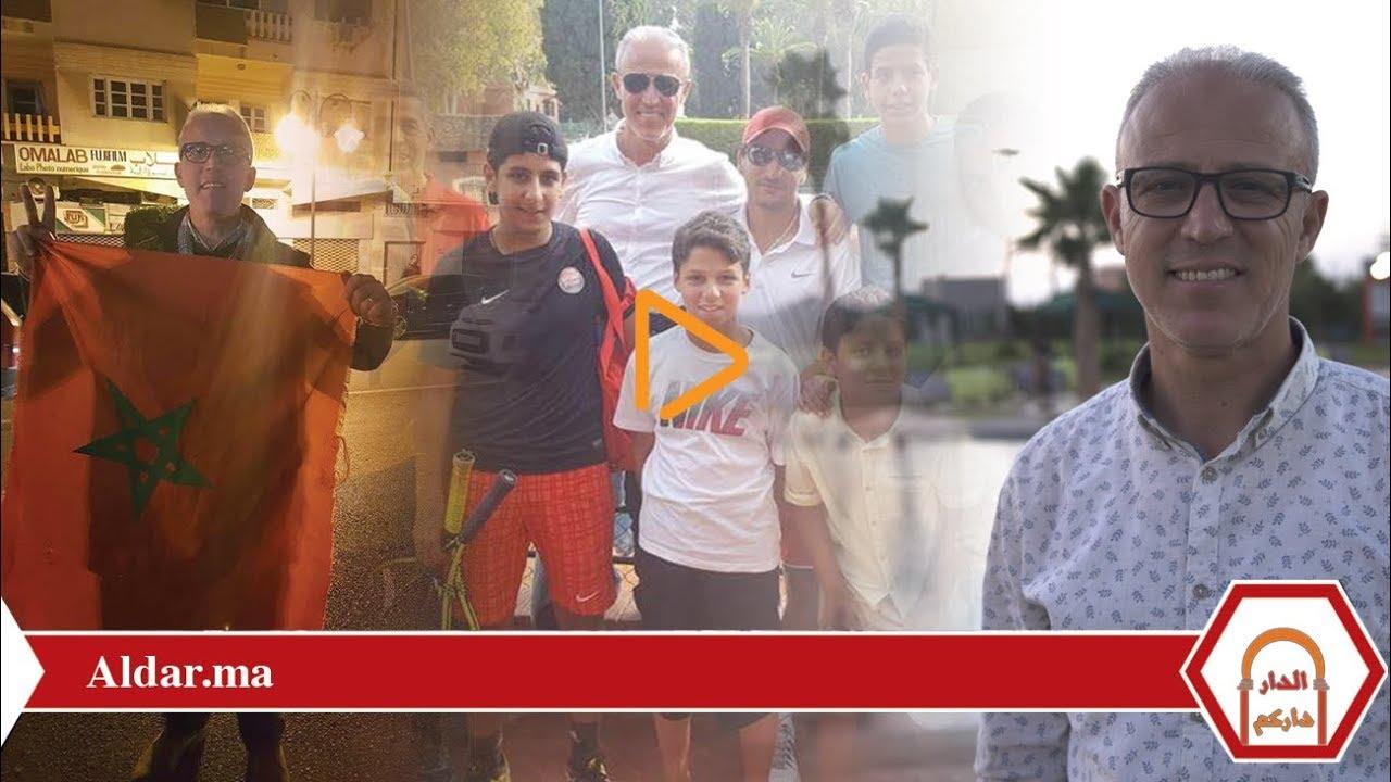 صورة صيدلاني فلسطيني جاء للدراسة في المغرب فاستقر به