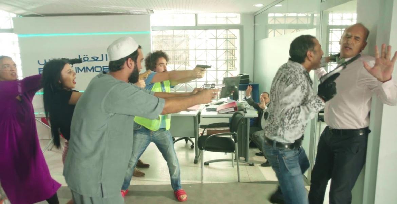 """صورة تقديم العرض ما قبل الأول للفيلم السينمائي الكوميدي """"براكاج"""" للمخرج أحمد الطاهري الإدريسي"""