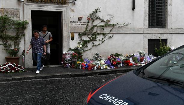 صورة مقتل شرطي ايطالي يدفع وزير الداخلية الايطالي الى مهاجمة المغاربة