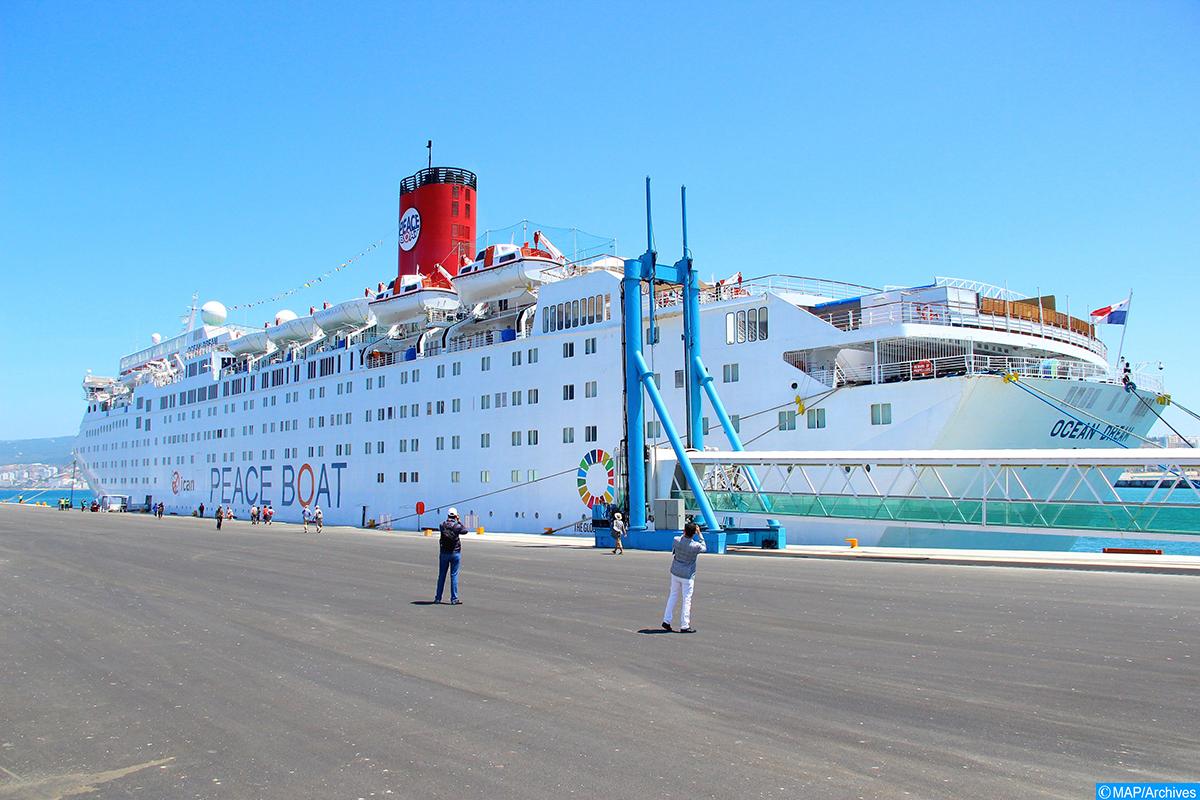 Photo of سياحة الرحلات البحرية.. ارتفاع بنسبة 14,3 بالمائة في عدد محطات التوقف بميناء طنجة المدينة
