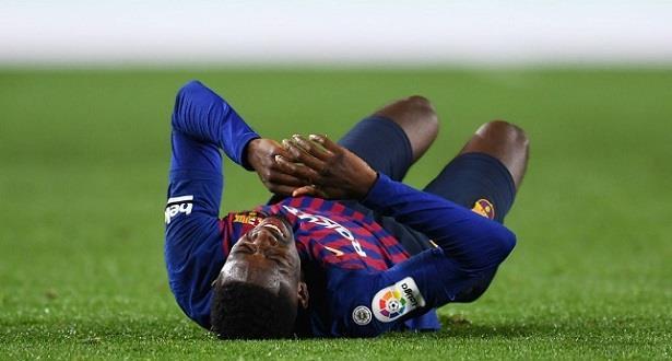 Photo of الاصابة تبعد ديمبيلي عن برشلونة حتى خمسة أسابيع
