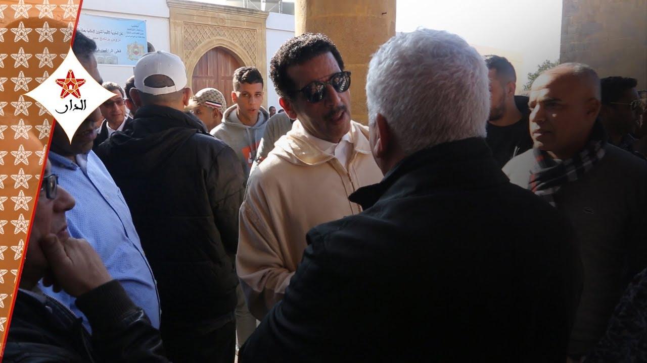 Photo of شخصيات أمنية وازنة تعزي الخيام في وفاة والدته