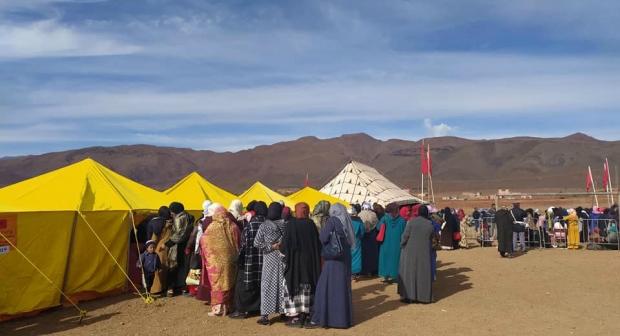 Photo of قافلة طبية متعددة التخصصات بالجماعة الترابية تلوات بإقليم ورزازات
