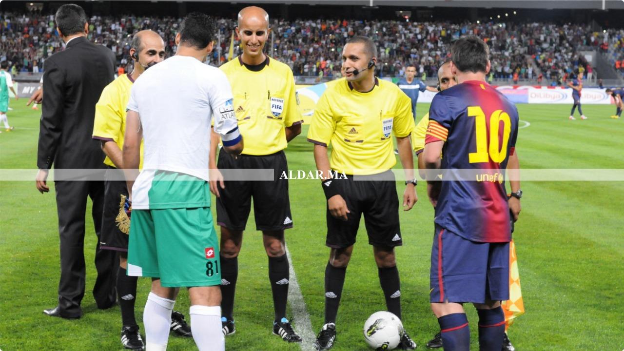 """Photo of رضوان جيد يتحدث لـ""""الدار"""" عن الحكام الأفارقة في البطولة الوطنية"""