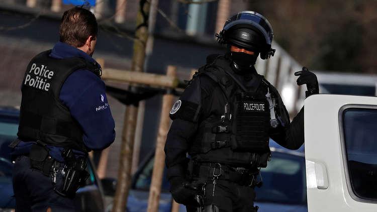 صورة بلجيكا.. طعن ضابط شرطة وسط بروكسل