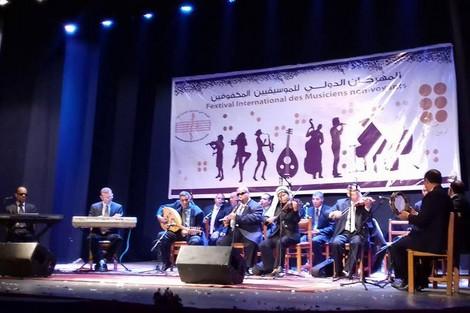 Photo of تطوان تجمع الموسيقيين المكفوفين في مهرجان دولي