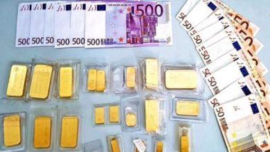 صورة مليلية..تفاصيل ضبط 26 كيلوغراما من الذهب و900 ألف يورو في حوزة مغربي