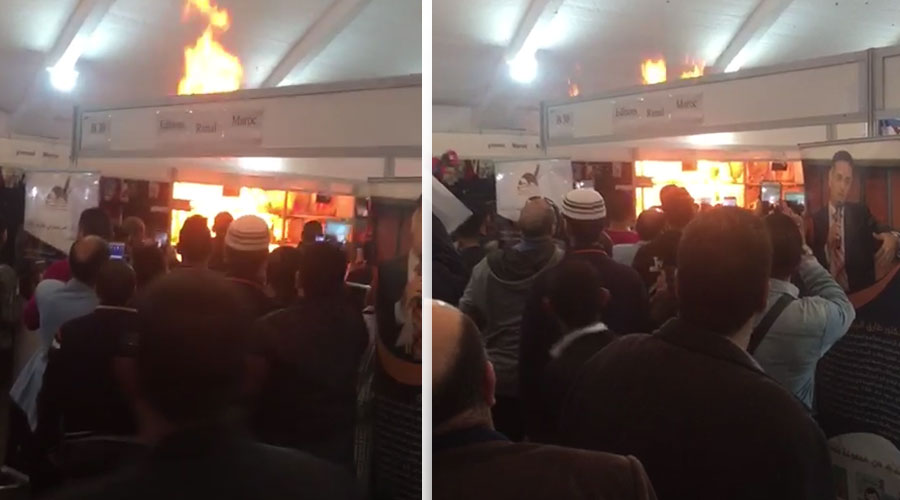 Photo of الوقاية المدنية تسيطر على حريق شب بالمعرض الدولي للنشر والكتاب