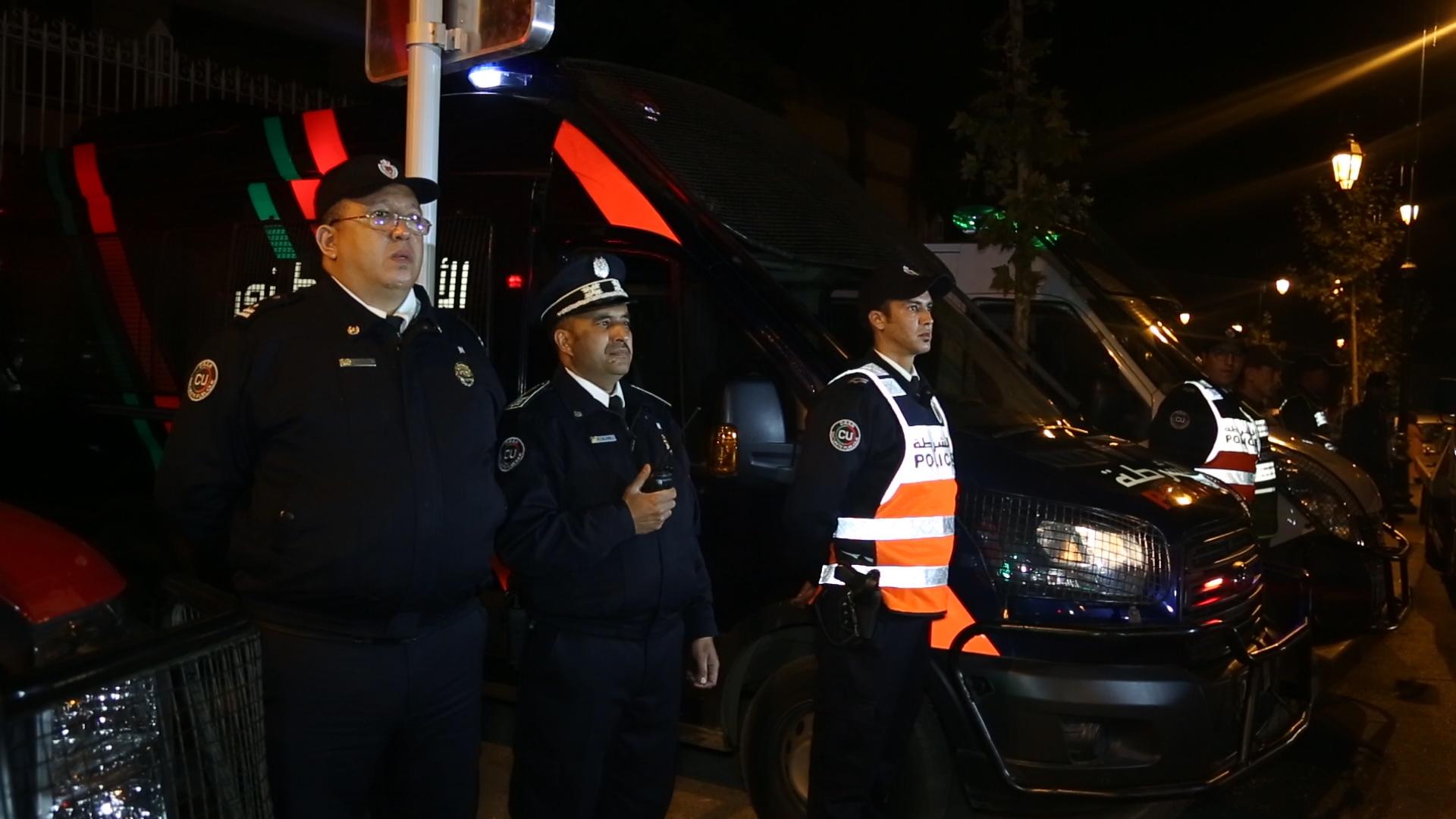 Photo of هكذا أمّن رجال ونساء الشرطة ليلة البوناني بالرباط (فيديو + صور)
