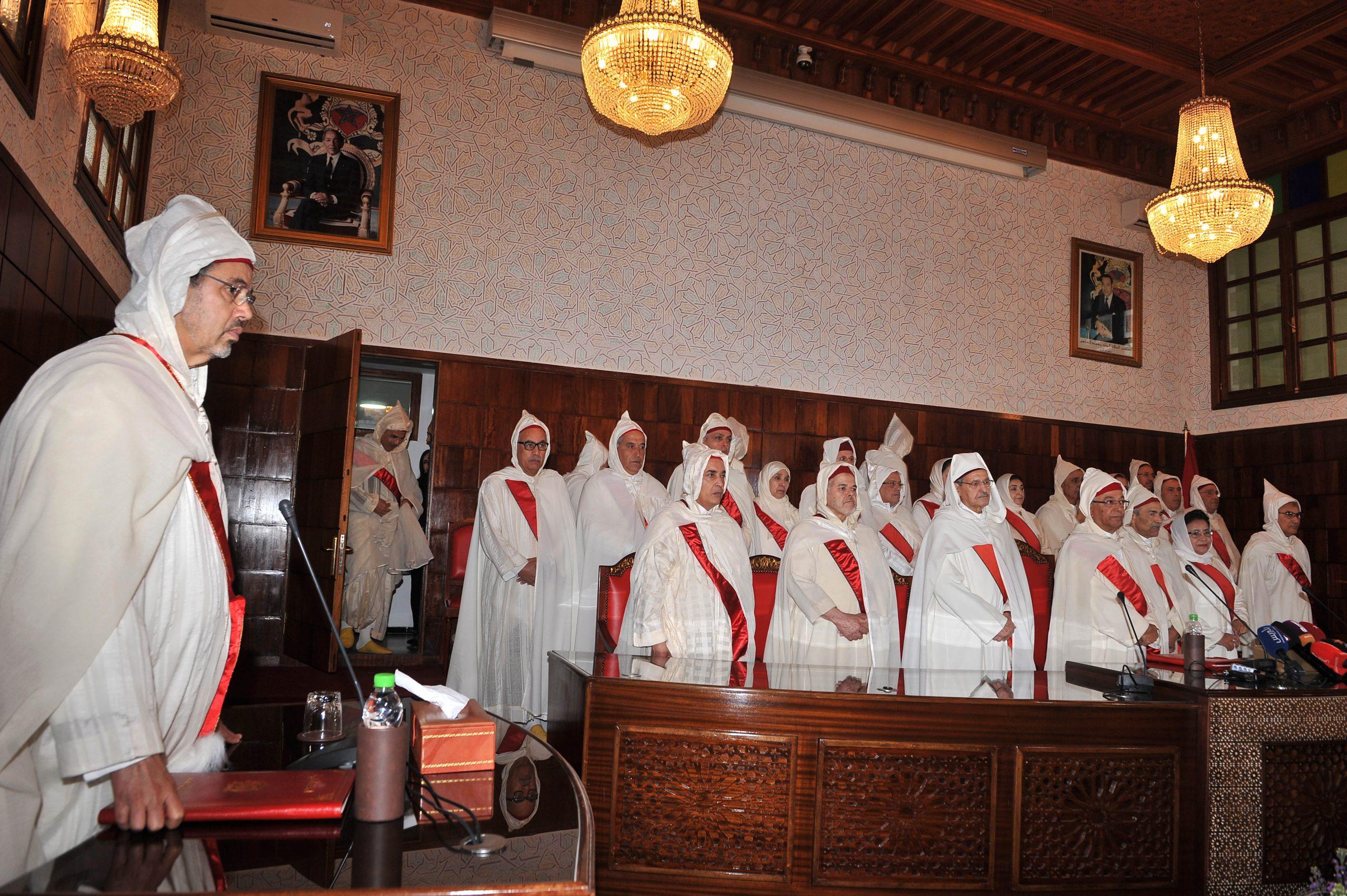 صورة عبد النبوي يقدم حصيلة عمل النيابة العامة ويقف عند مشاكل القضاء