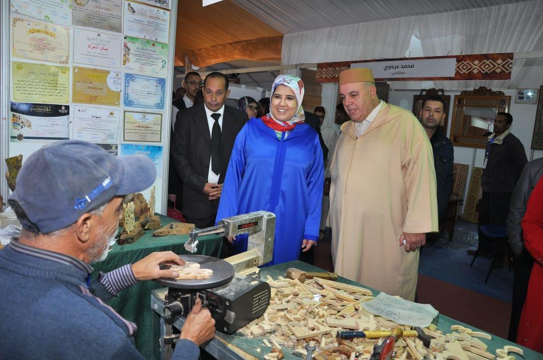 Photo of السينغال ضيف شرف المعرض الدولي للخشب بمكناس