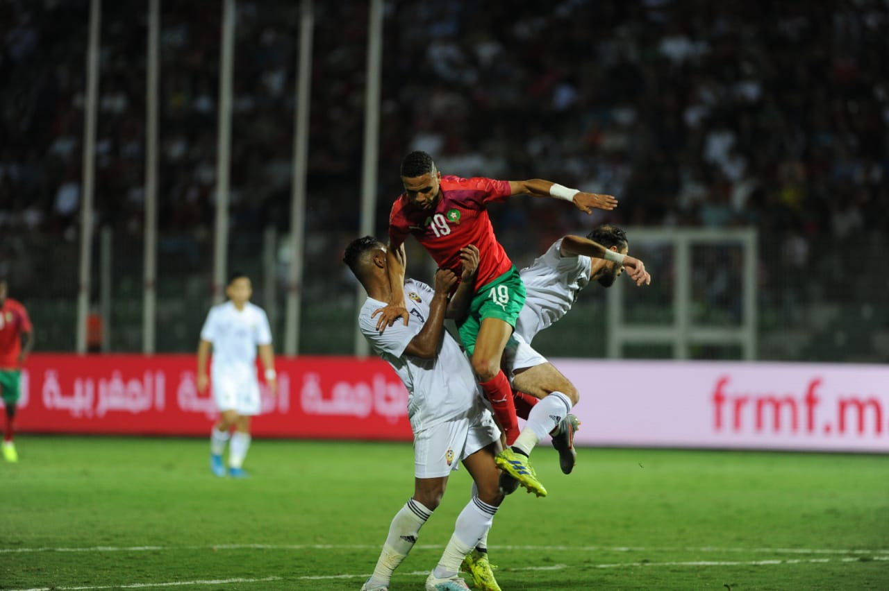 Photo of بالصور.. المنتخب المغربي يكتفي بتعادل باهت أمام ليبيا