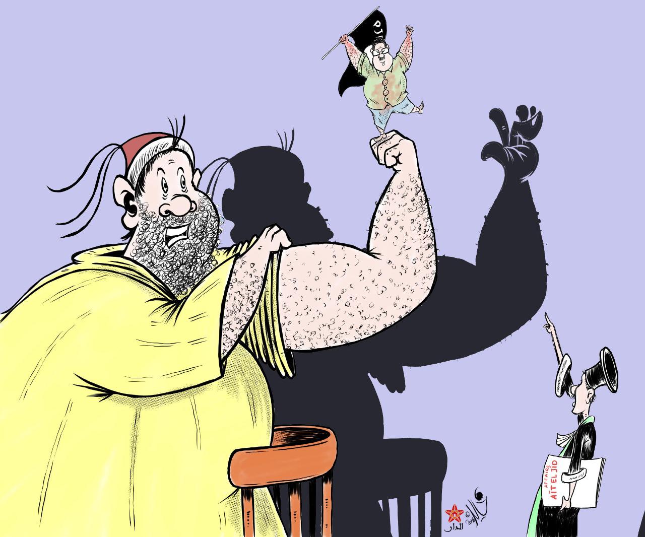 صورة الجماعة واستقواء حامي الدين