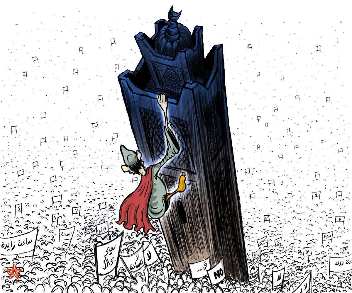 Photo of العثماني يهرب من احتجاجات التلاميذ على الساعة الإضافية