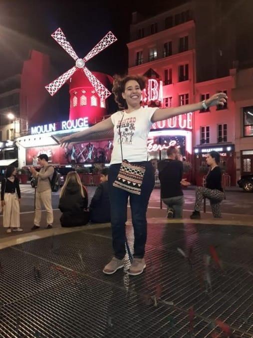 Photo of هل رقصت أمينة ماء العينين بدون حجاب بباريس؟