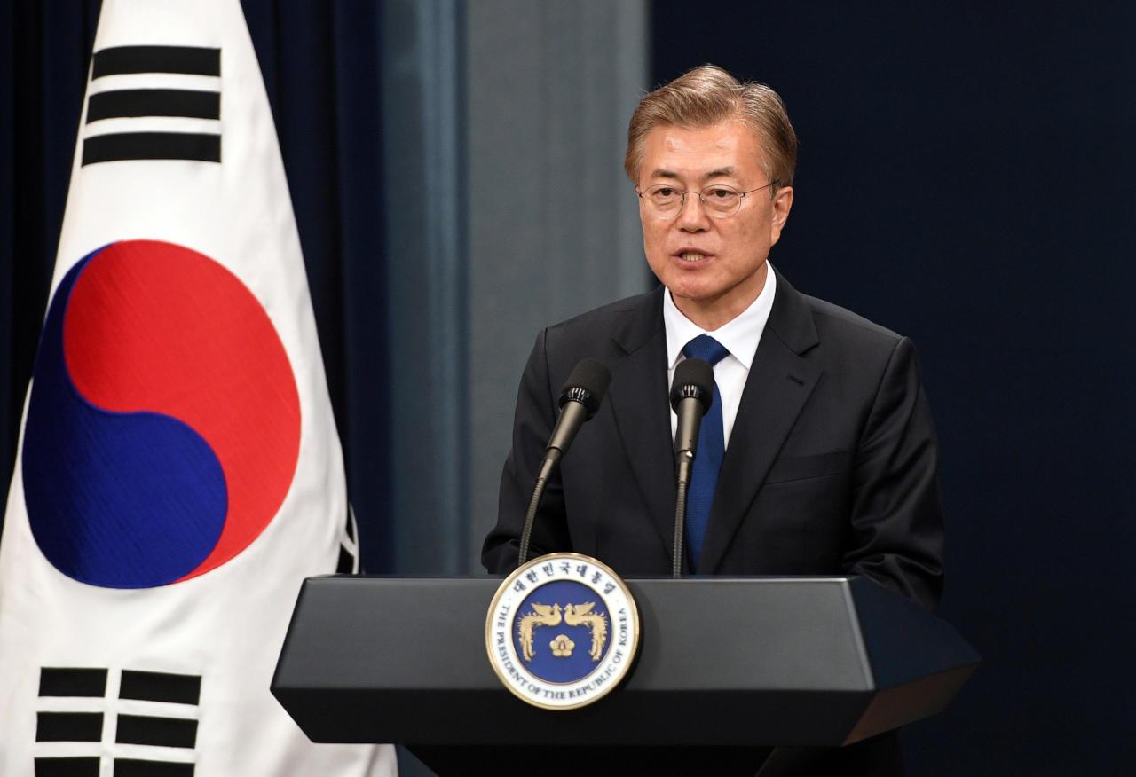 صورة استطلاع: تراجع التأييد لأداء الرئيس الكوري الجنوبي