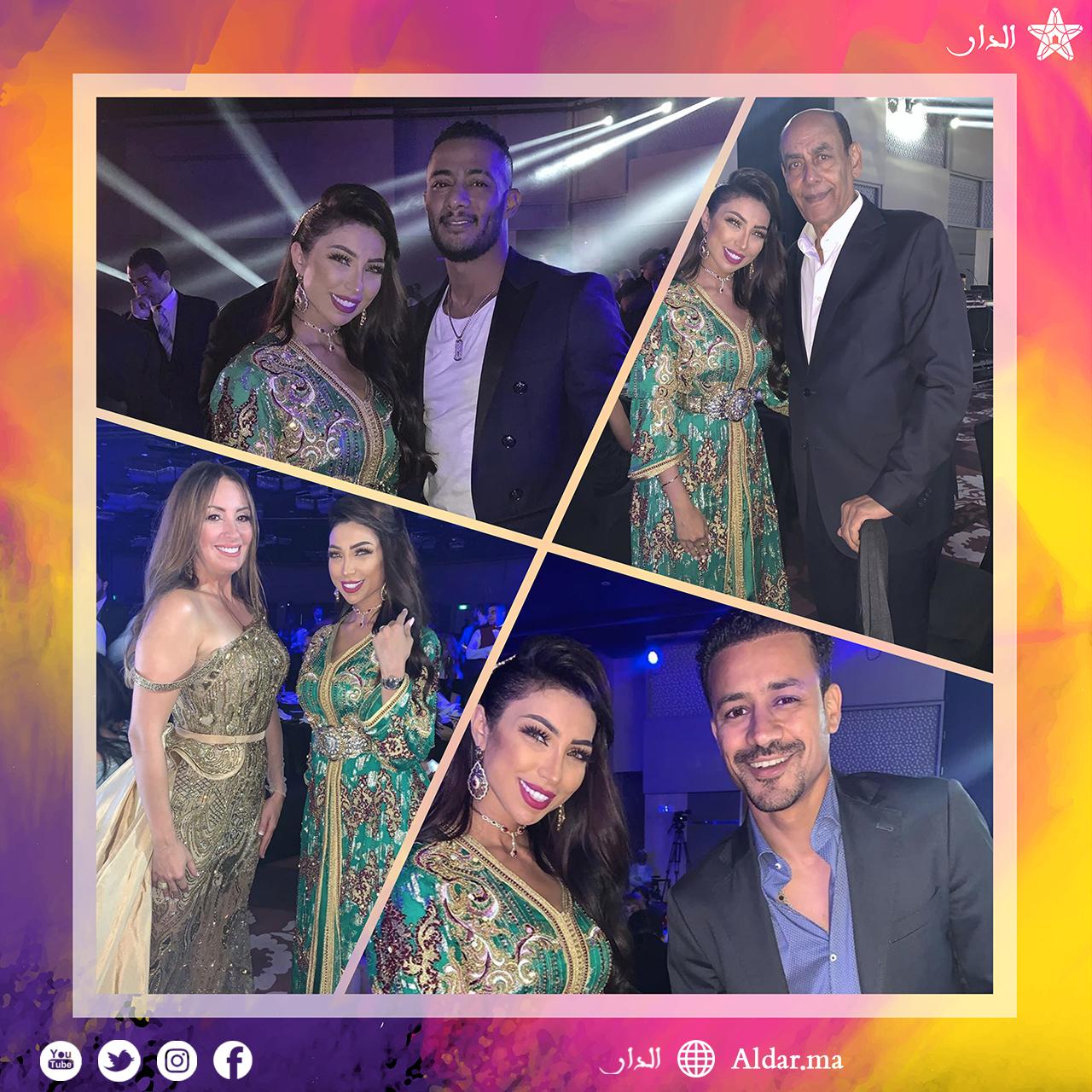 """Photo of بالصور والفيديو.. دنيا بطمة تفوز بجائزة """"أفضل مطربة مغربية"""" لسنة 2019"""