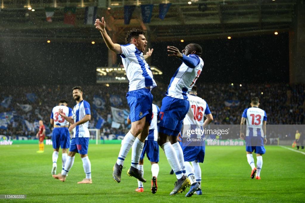 """صورة بالصور.. بورتو يطيح بـ""""قياصرة"""" روما في مباراة مثيرة"""
