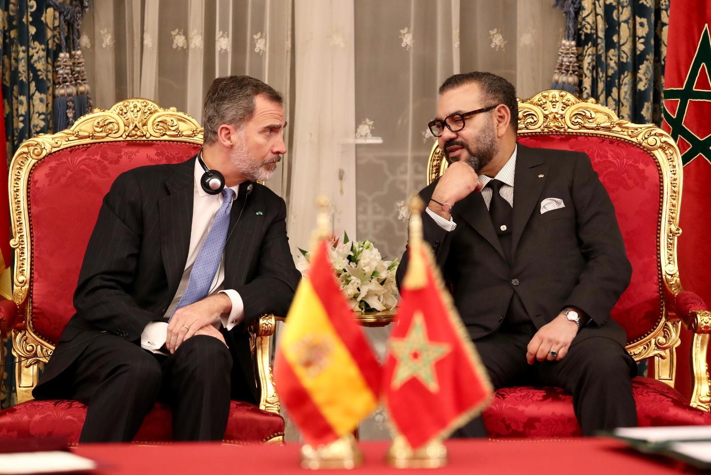 صورة العاهل الاسباني يزور مدينة مليلية المحتلة بدعوة من رئيس مجلس المدينة
