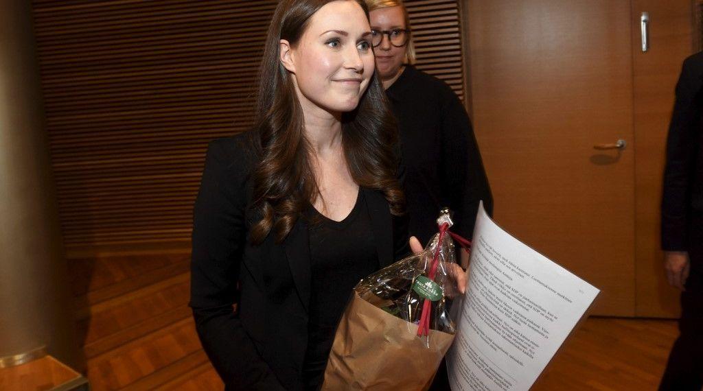 صورة من هي سانا مارينا.. أصغر رئيسة وزراء في فنلندا والعالم؟