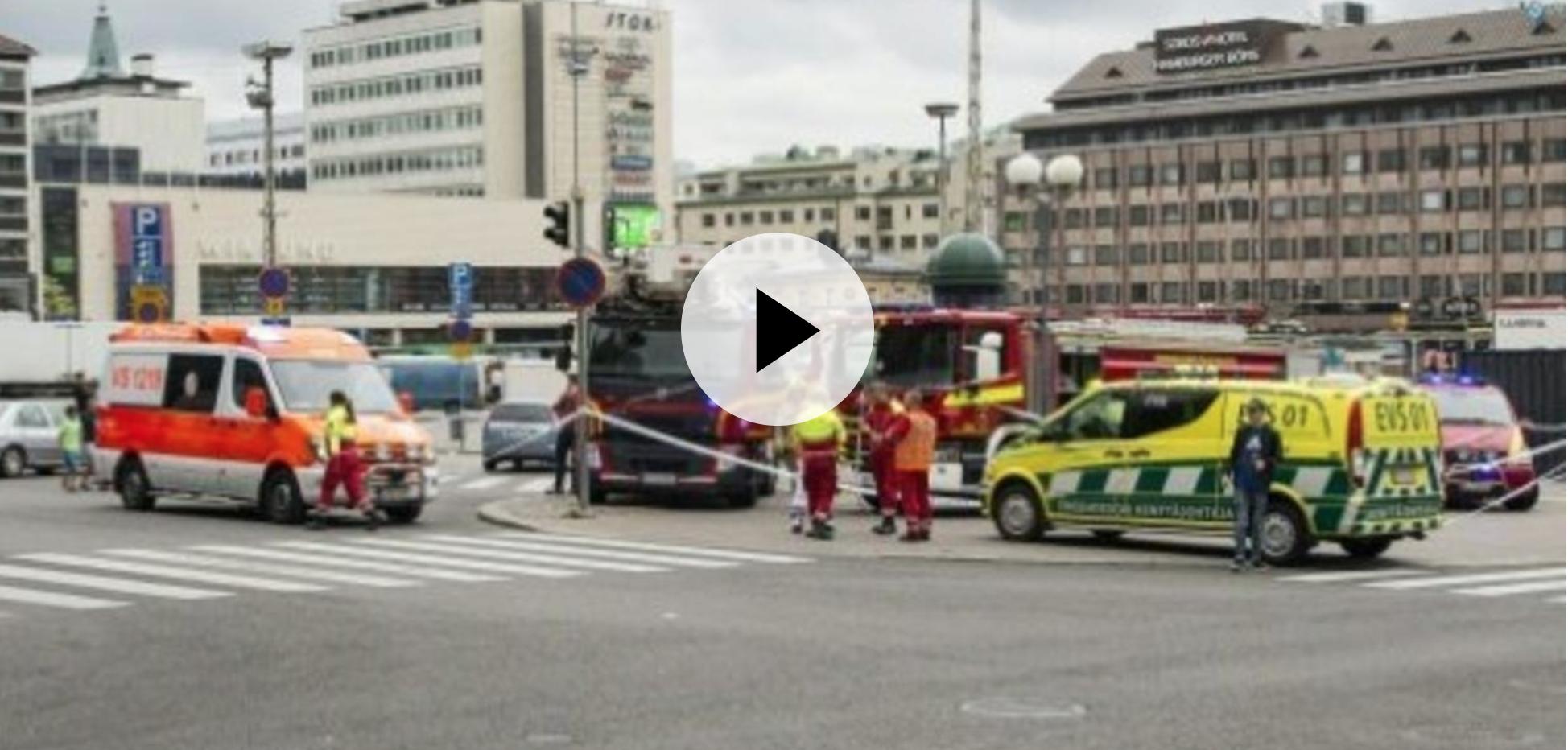 صورة قتيل وعشرة جرحى بهجوم في ثانوية مهنية في فنلندا