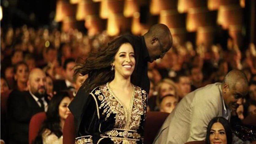 "Photo of مهرجان الجونة السينمائي..منح جائزة مؤسسة ""إيدا"" الخيرية للممثلة المغربية نسرين الراضي"
