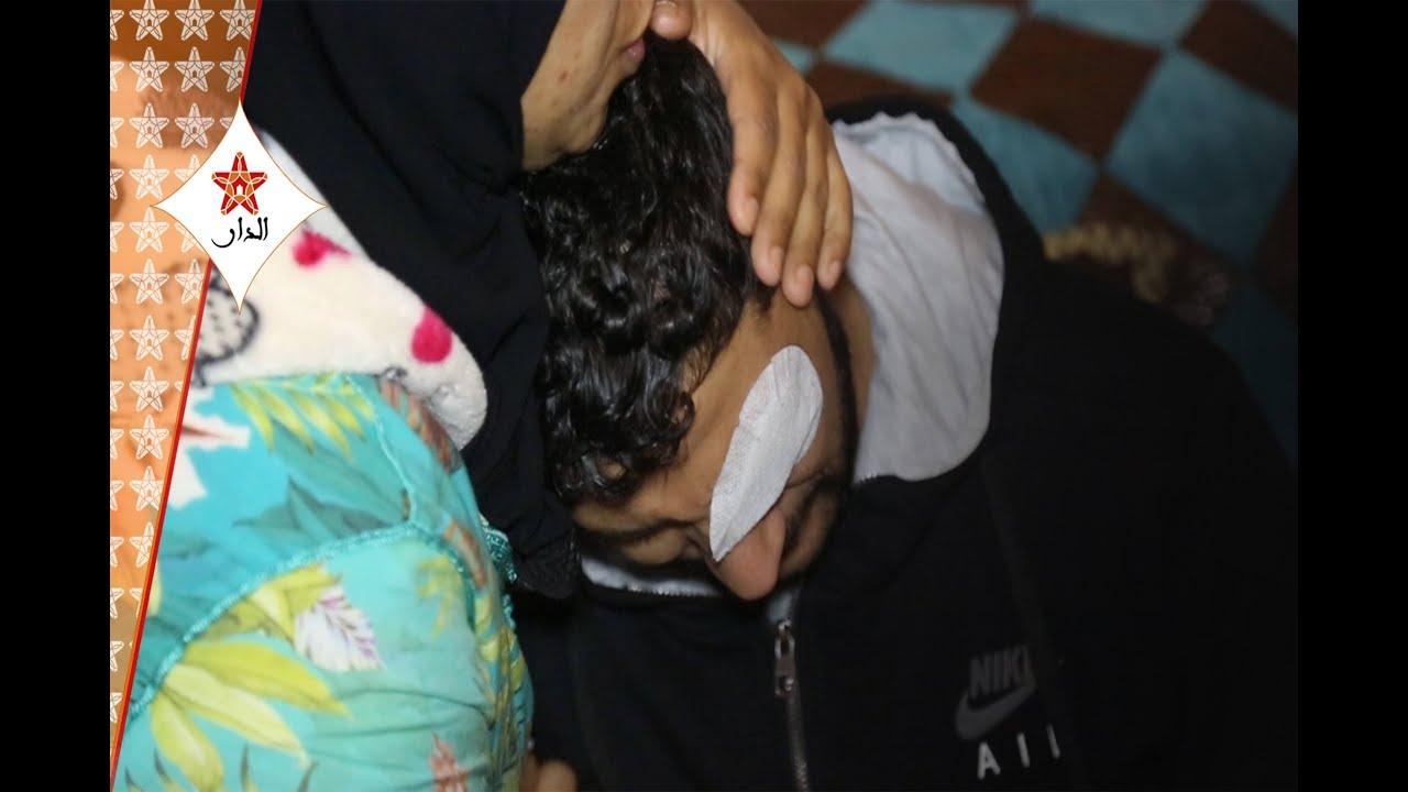 صورة انفراد: أول ظهور إعلامي للسجين لي حيدو ليه عينيه فعاكشة بالدار البيضاء