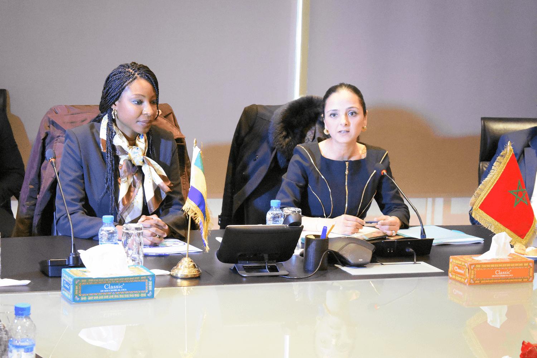 صورة لبنى طريشة: المكتب استقبل أزيد من 600 متدربا مهنيا إفريقياً