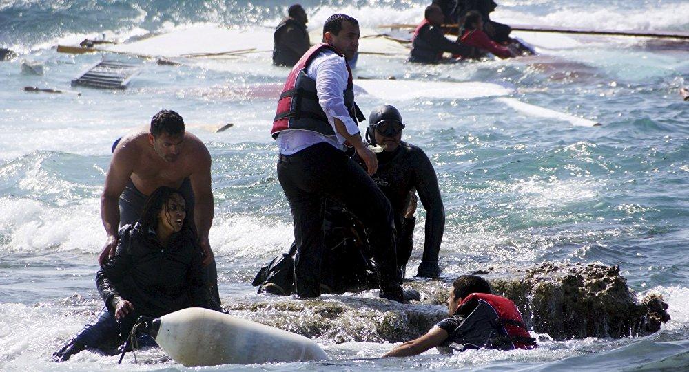 """صورة مصرع 9 مغاربة في غرق قارب سواحل جزيرة """"لانزاروتي"""""""