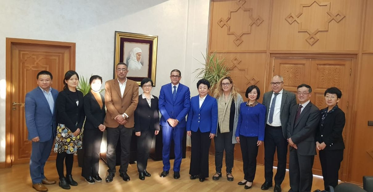 صورة جهة مراكش-آسفي ومقاطعة جيانغسو الصينية عازمتان على تعزيز تعاونهما في عدة مجالات