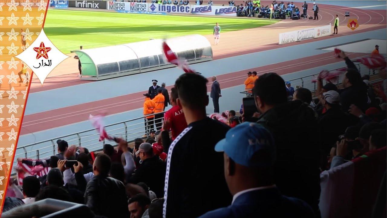 Photo of فرحة هستيرية لجمهور الوداد لحظة تسجيل الهدف الفوز