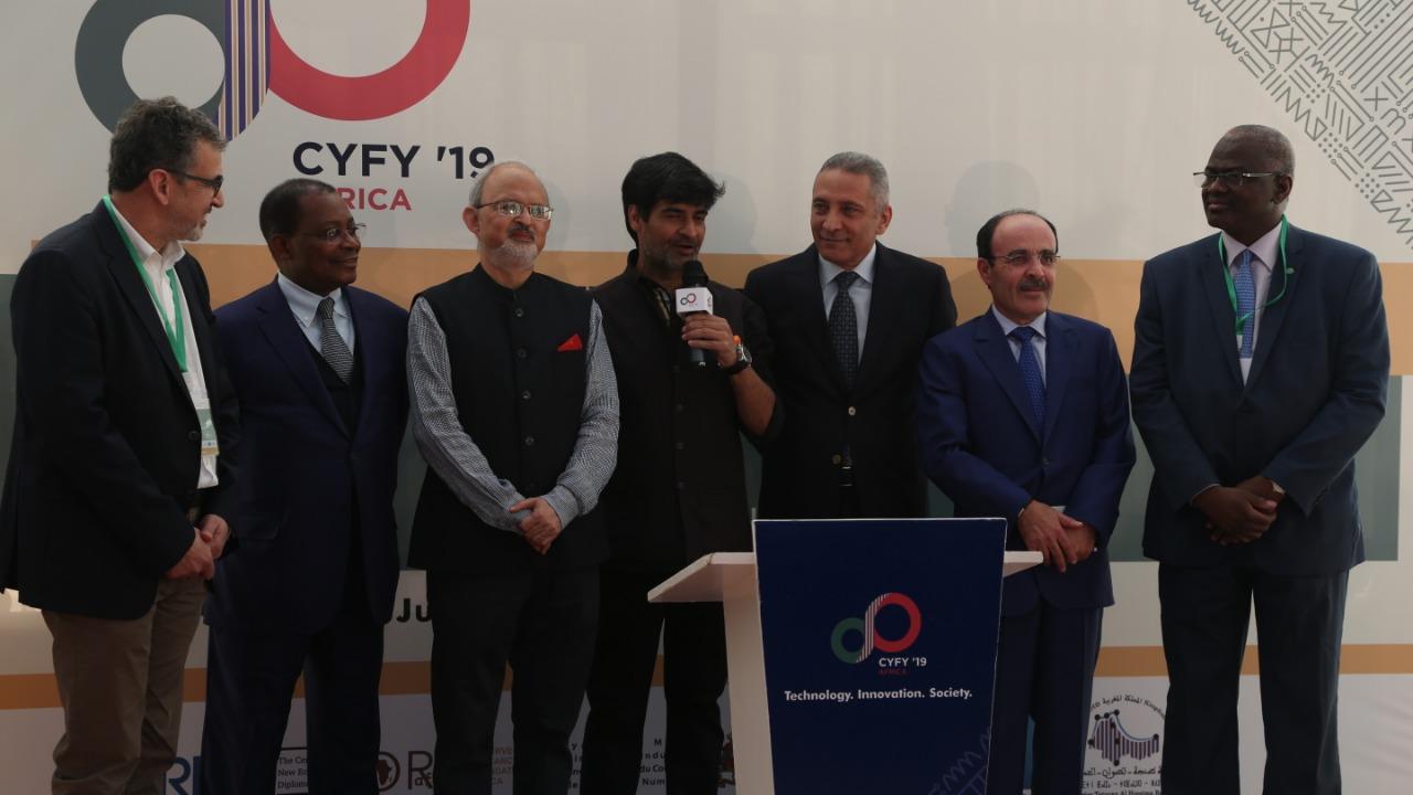 """صورة انطلاق مؤتمر""""سايفاي افريقيا 2019″ بطنجة"""
