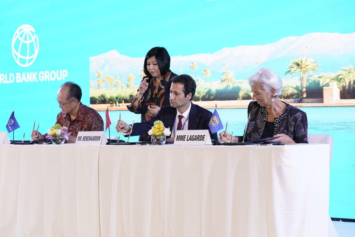 Photo of لقاء بالرباط للتحضير للاجتماعات السنوية للبنك الدولي وصندوق النقد الدولي المقررة سنة 2021 بمراكش