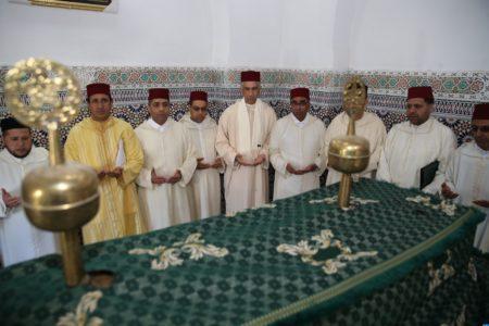 Photo of إقليم صفرو : هبتان ملكيتان لشرفاء ضريحي سيدي لحسن اليوسي وسيدي علي بوسرغين